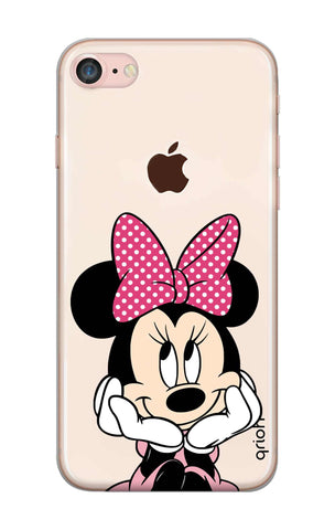 Minnie In Deep Thinking iPhone 8 Cases & Covers Online