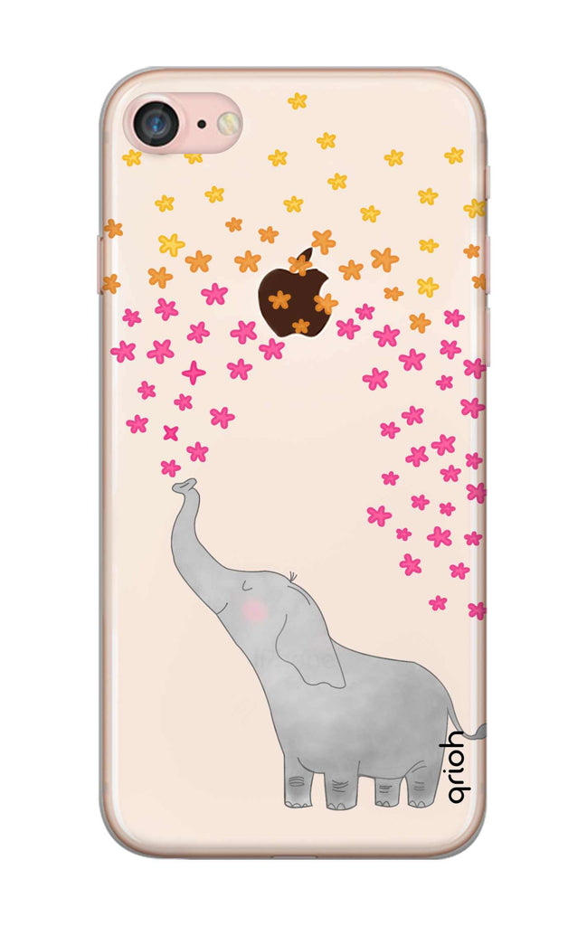 more photos d84f7 68978 Cute Elephant Case for iPhone 8