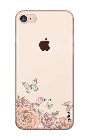 Flower And Butterfly iPhone 8 Cases & Covers Online