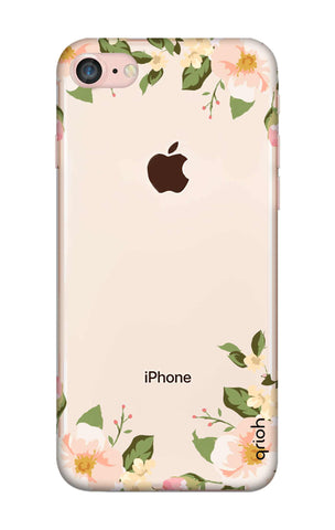 Flower In Corner iPhone 8 Cases & Covers Online