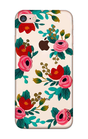 Red Floral iPhone 8 Cases & Covers Online