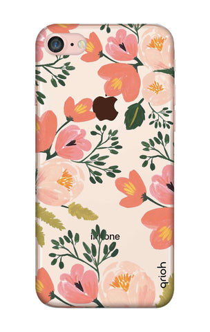 Painted Flora iPhone 8 Cases & Covers Online