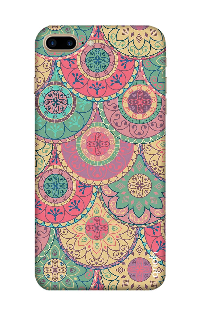 best loved c70ad 107a4 Colorful Mandala Case for iPhone 8 Plus