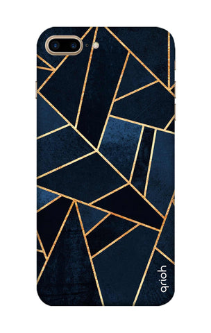 Abstract Navy iPhone 8 Plus Cases & Covers Online