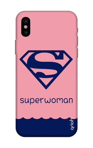 Be a Superwoman iPhone X Cases & Covers Online