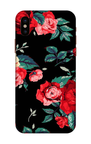 Wild Flowers iPhone X Cases & Covers Online
