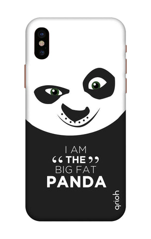 Big Fat Panda iPhone X Cases & Covers Online