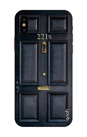 Baker Street Door iPhone X Cases & Covers Online
