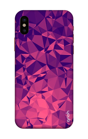 Purple Diamond iPhone X Cases & Covers Online