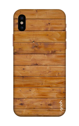 Natural Wood iPhone X Cases & Covers Online