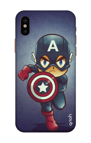 Toy Capt America iPhone X Cases & Covers Online
