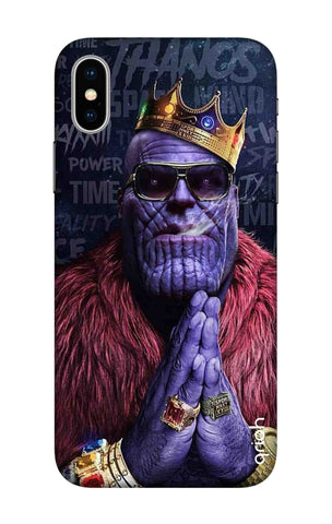 Blue Villain iPhone X Cases & Covers Online