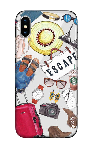 Travel Doodle iPhone X Cases & Covers Online