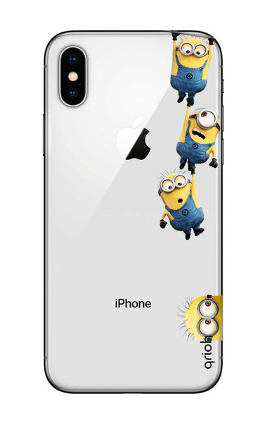 Falling Minions Case for iPhone X
