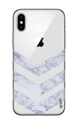 Marble Chevron iPhone X Cases & Covers Online