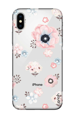 Beautiful White Floral iPhone X Cases & Covers Online