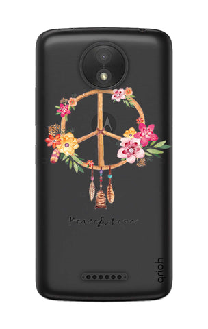 Peace And Love Motorola Moto C Cases & Covers Online