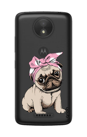 Pink Puggy Motorola Moto C Cases & Covers Online