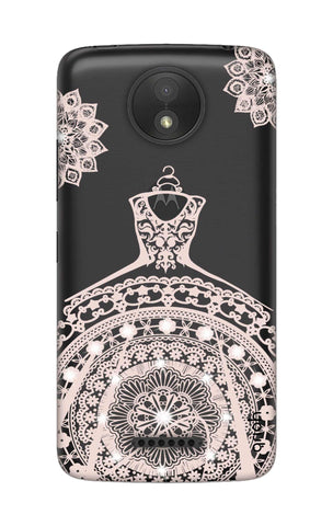 Bling Wedding Gown Motorola Moto C Cases & Covers Online