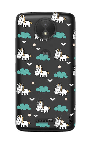 Unicorn In The Clouds Motorola Moto C Cases & Covers Online