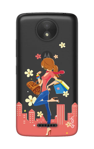 Shopping Girl Motorola Moto C Cases & Covers Online