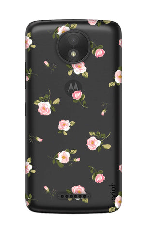Pink Rose All Over Motorola Moto C Cases & Covers Online
