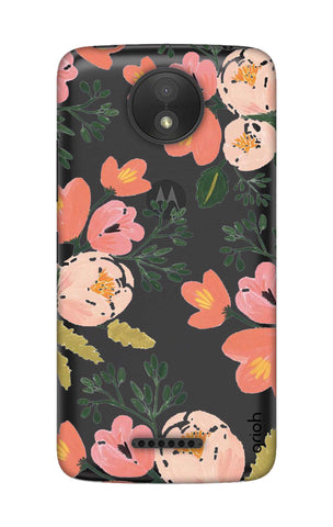Painted Flora Motorola Moto C Cases & Covers Online