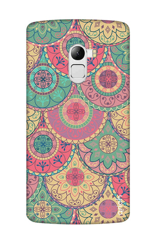 Colorful Mandala Lenovo K4 Note Cases & Covers Online