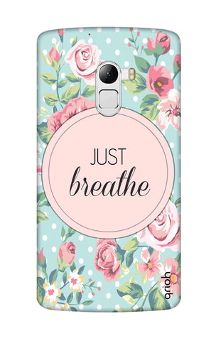 Vintage Just Breathe Lenovo K4 Note Cases & Covers Online
