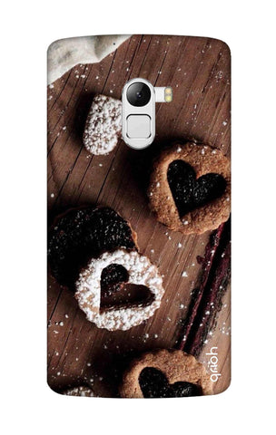 Heart Cookies Lenovo K4 Note Cases & Covers Online