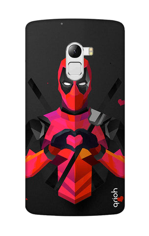 Valentine Deadpool Lenovo K4 Note Cases & Covers Online