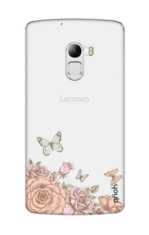 Flower And Butterfly Lenovo K4 Note Cases & Covers Online