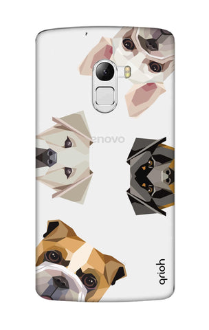 Geometric Dogs Lenovo K4 Note Cases & Covers Online