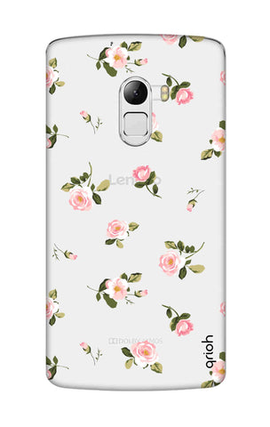 Pink Rose All Over Lenovo K4 Note Cases & Covers Online