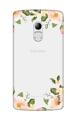 Flower In Corner Lenovo K4 Note Cases & Covers Online