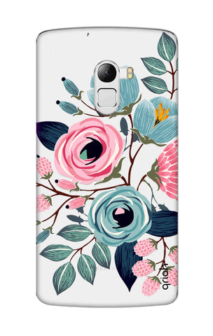 Pink And Blue Floral Lenovo K4 Note Cases & Covers Online
