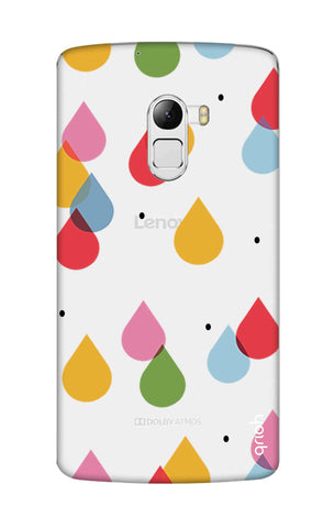 Colourful Drops Lenovo K4 Note Cases & Covers Online