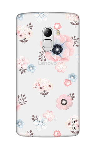 Beautiful White Floral Lenovo K4 Note Cases & Covers Online