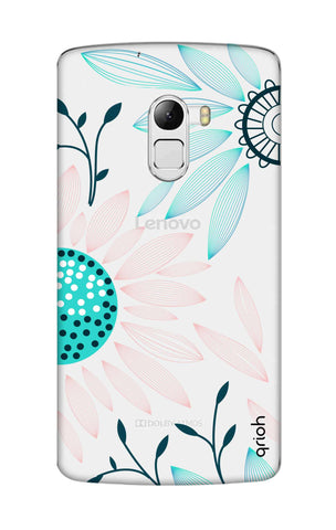 Pink And Blue Petals Lenovo K4 Note Cases & Covers Online