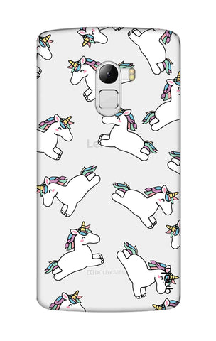 Jumping Unicorns Lenovo K4 Note Cases & Covers Online