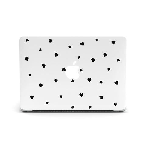 Black Hearts Macbook Covers