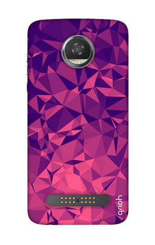Purple Diamond Motorola Moto Z2 Play Cases & Covers Online