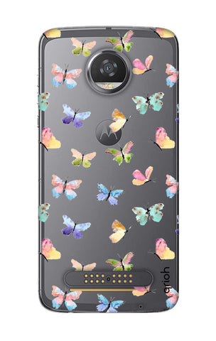 Painted Butterflies Motorola Moto Z2 Play Cases & Covers Online