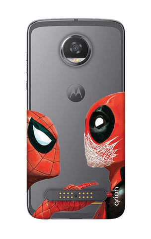 Sup Deadpool Motorola Moto Z2 Play Cases & Covers Online