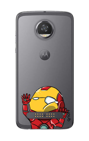 Iron Man Wall Bump Motorola Moto Z2 Play Cases & Covers Online