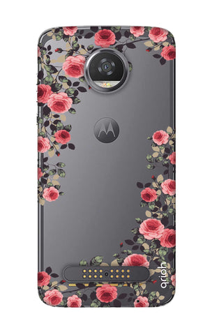 Floral French Motorola Moto Z2 Play Cases & Covers Online