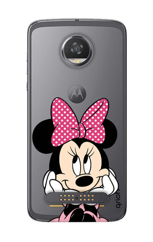 Minnie In Deep Thinking Motorola Moto Z2 Play Cases & Covers Online
