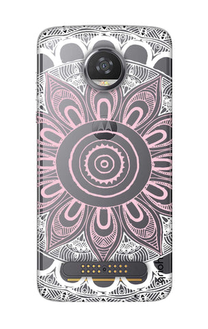 Pink Mandala Motorola Moto Z2 Play Cases & Covers Online