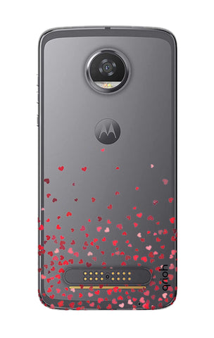 Floating Hearts Motorola Moto Z2 Play Cases & Covers Online
