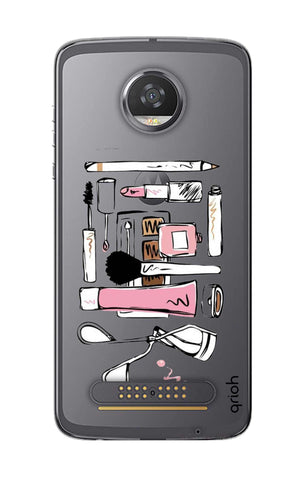 Make Up Tool Kit Motorola Moto Z2 Play Cases & Covers Online
